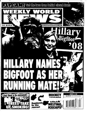 Hillary names Bigfoot as her Running Mate!.jpg